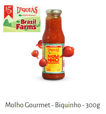 Molho-Gourmet-Biqiunho-Brazil-Farms